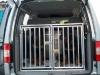 Hundedoppelbox für VW Caddy