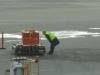 Kontrolle durch das Flugpersonal