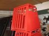 Hundebox Rot pulverbeschichtet