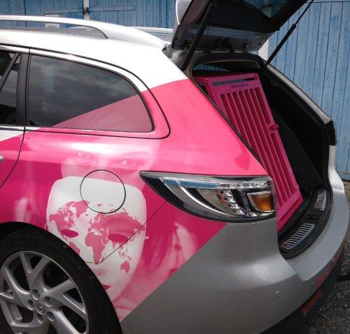 Mazda 6 Telemangenta Hundebox